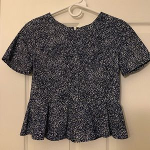 GAP peplum top